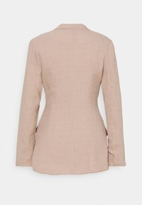 Missguided - TEXTURED DOUBLE BREASTED - Manteau court - pink - 1