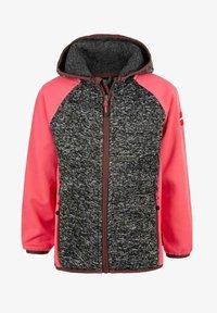 ZIGZAG - THAMOS - Fleece jacket - dark grey melange - 0