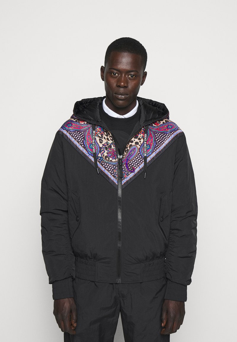 Versace Jeans Couture - CRINKLE  - Light jacket - nero
