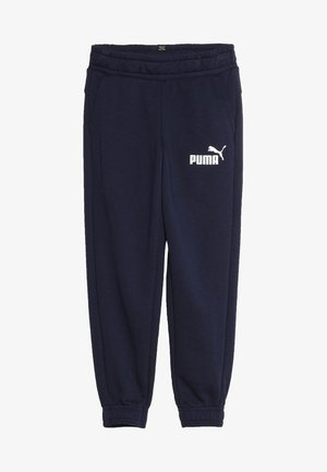 LOGO PANTS - Tracksuit bottoms - peacoat