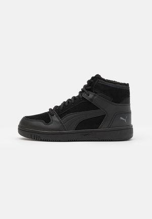 REBOUND LAYUP UNISEX - High-top trainers - black/castlerock