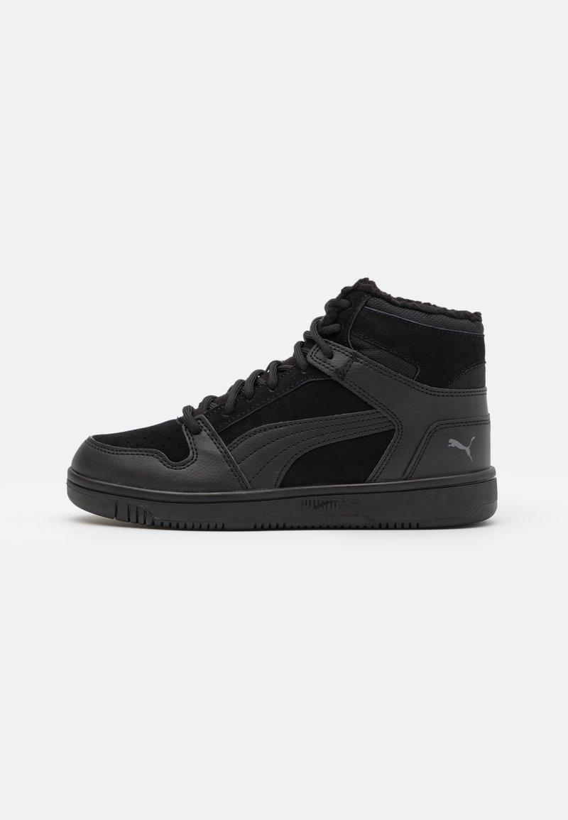 Puma - REBOUND LAYUP UNISEX - Sneakers high - black/castlerock