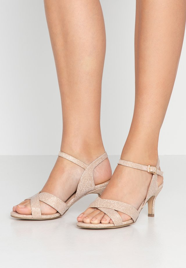 HANIYA WIDE FIT - Sandals - champagne