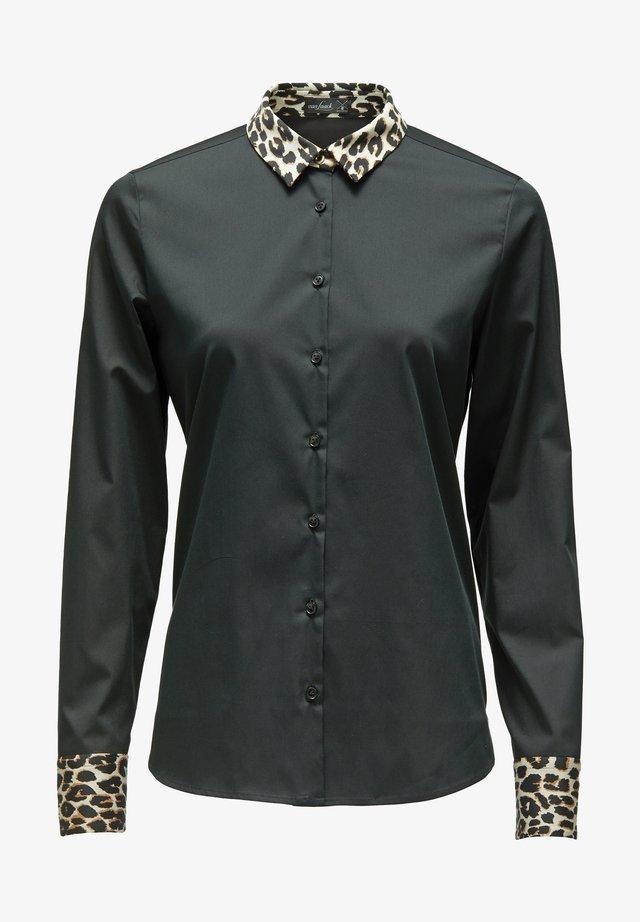 MELA-FKN - Button-down blouse - black