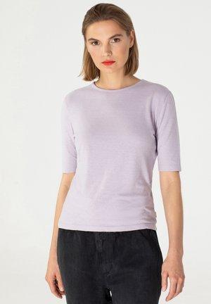 T-shirt basic - pale lavender