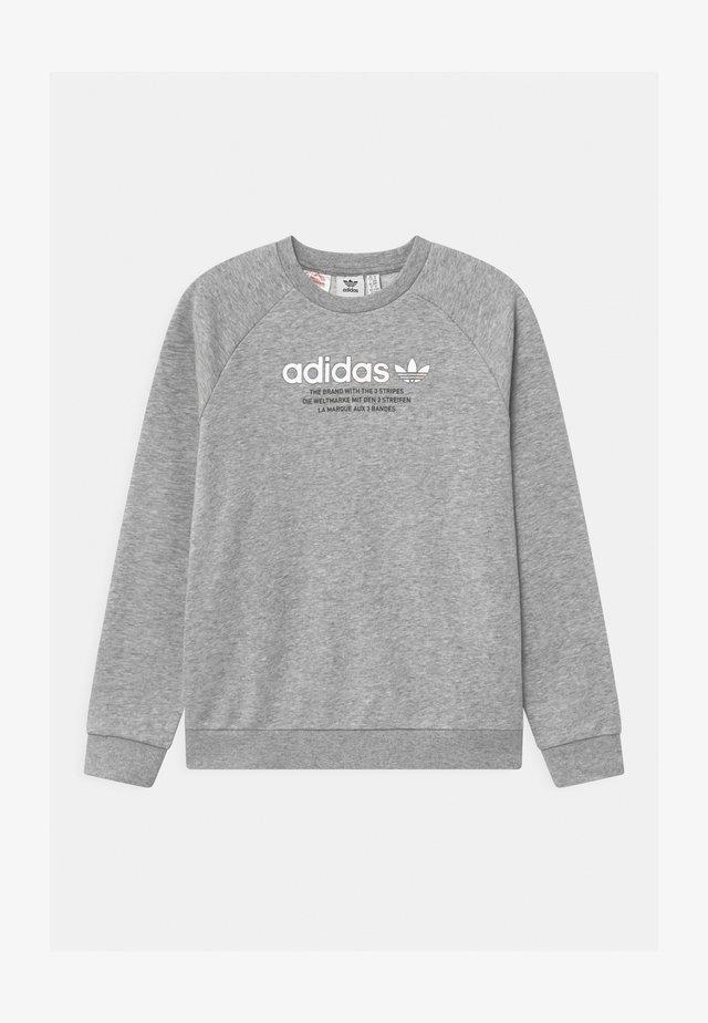 TRI COLOUR CREW - Sweatshirt - medium grey heather