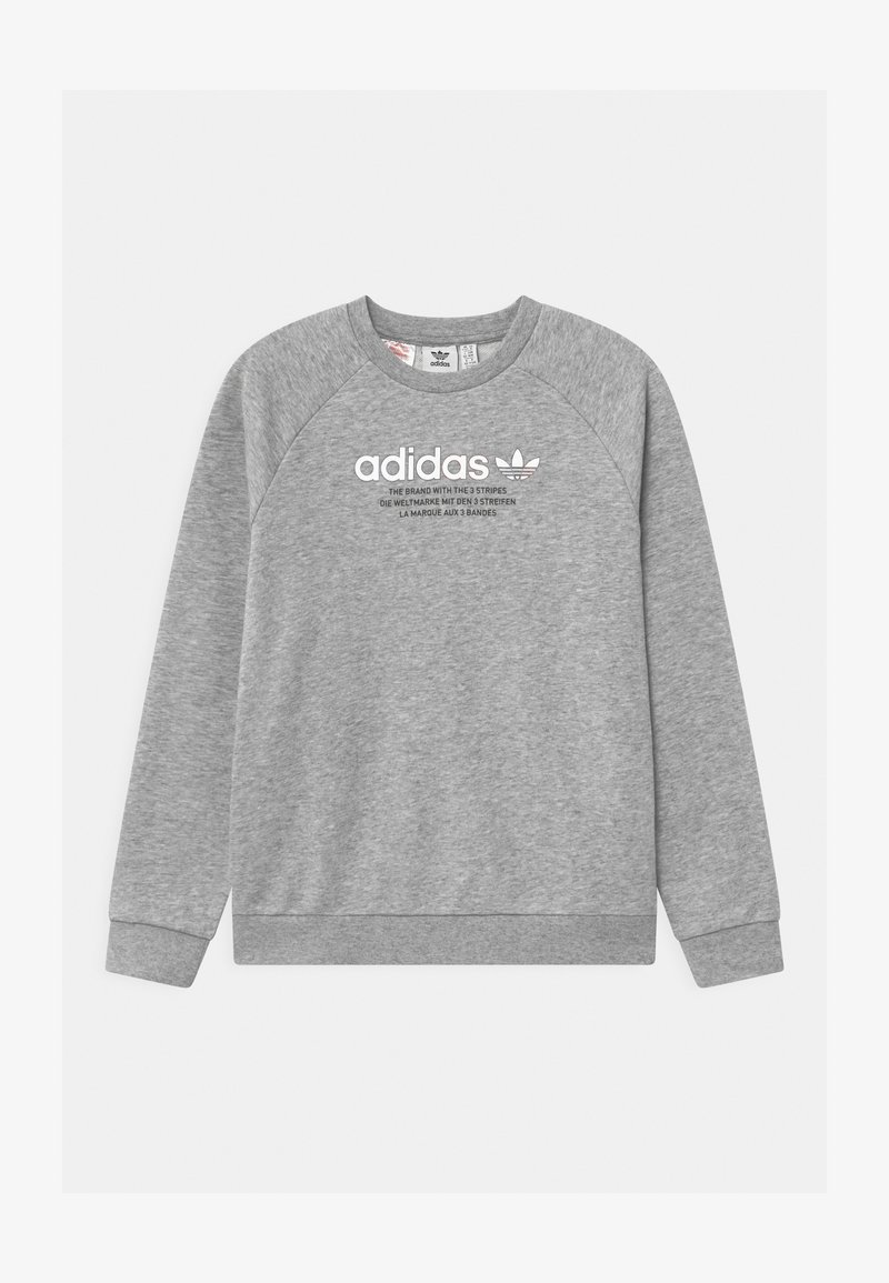 adidas Originals - TRI COLOUR CREW - Sweatshirt - medium grey heather
