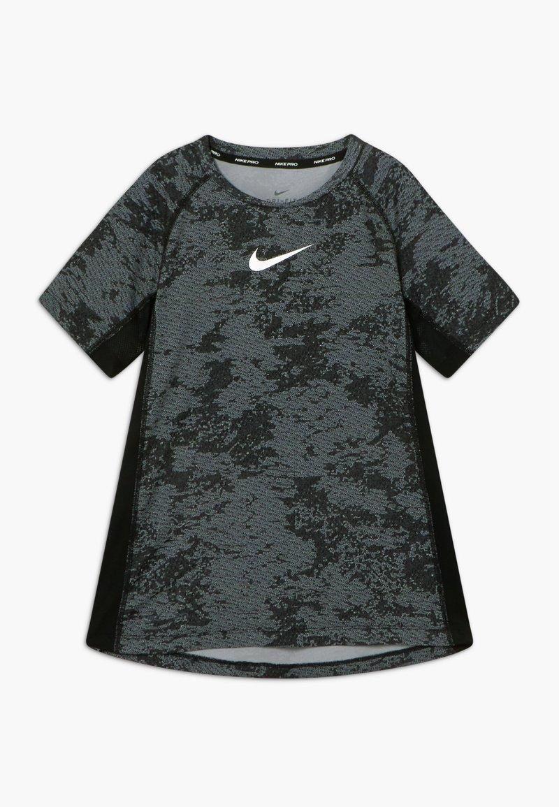 Nike Performance - Triko spotiskem - black/white