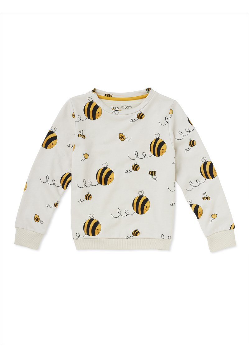 Lucy & Sam - BEE KIND  - Sweatshirt - off white