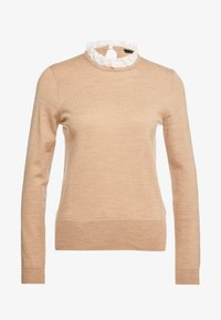 J.CREW - Pullover - heather camel ivory - 4