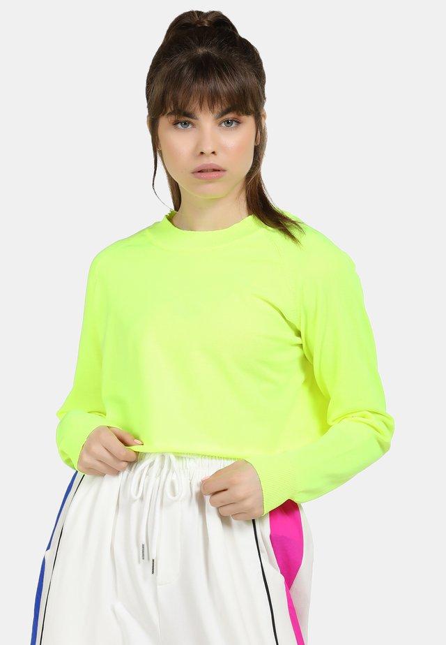 Pullover - neon green
