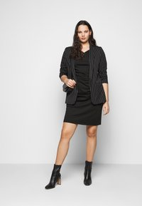 Kaffe Curve - KCINA DRESS - Day dress - black deep - 1