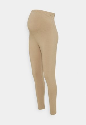 MATERNITY - Leggings - Trousers - washed taupe