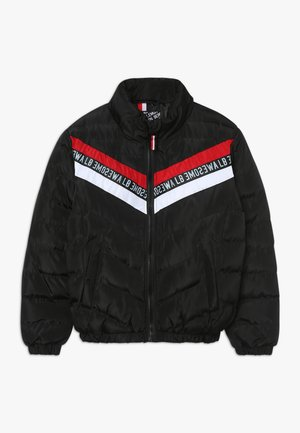 TEEN BOYS JACKET - Winterjas - black