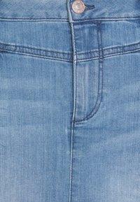 TOM TAILOR - SKIRT - Denim skirt - light stone wash denim - 5