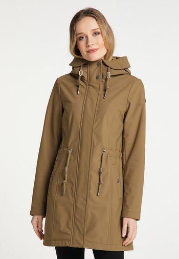 Winter coat - dunkelsand