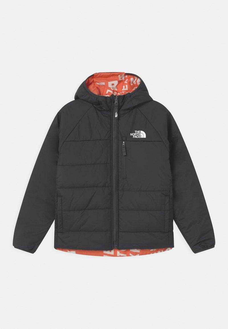 The North Face - REVERSIBLE PERRITO UNISEX - Vinterjacka - asphalt grey/red orange