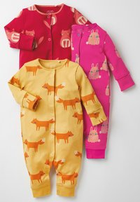 Next - 3 PACK  - Sleep suit - pink - 5