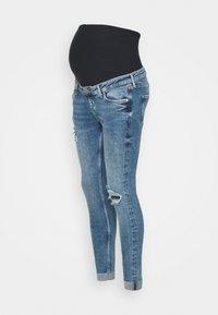 River Island Maternity - AMELIE MATERNITY ROLAND  - Jeans Skinny Fit - dark blue - 3