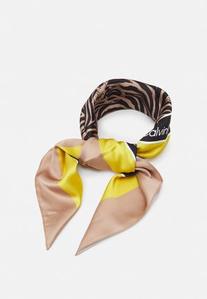 BANDANA - Foulard - black/brown