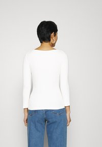 Zign - PREMIUM 3/4 Sleeve - Long sleeved top - off-white - 2