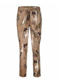 Alba Moda - Trousers - beige,schwarz - 5