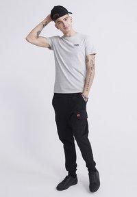 Superdry - VINTAGE CREW - Basic T-shirt - light grey - 1
