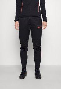 Nike Performance - ACADEMY 21 TRACKSUIT - Tracksuit - black/bright crimson - 3