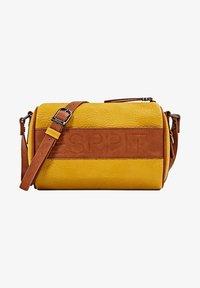 Esprit - MINNESOTA  - Across body bag - brass yellow - 2