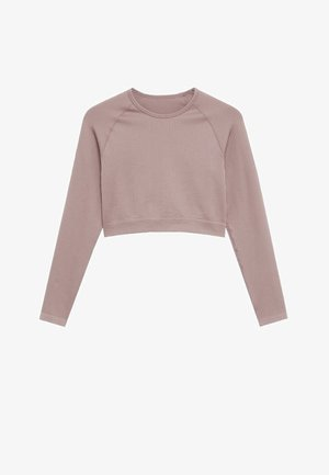 APOLINA - Long sleeved top - helllila/pastelllila