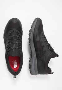 The North Face - Hiking shoes - black/zinc grey - 1