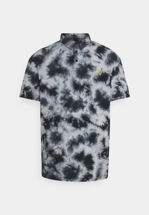 UNISEX - Polo shirt - mottled black
