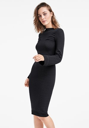 Robe fourreau - black/black