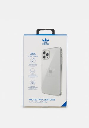 PROTECTIVE CLEAR CASE FOR IPHONE 11 PRO MAX UNISEX - Mobilväska - clear