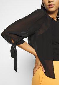 Vila - VIMALINE COVER - Summer jacket - black - 4