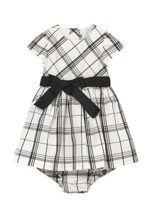 PLAID BABY  - Cocktail dress / Party dress - cream/black