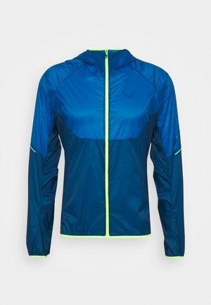 VERT WIND - Waterproof jacket - mykonos blue