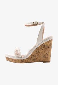 New Look Wide Fit - WIDE FIT PILAR  - Sandály na vysokém podpatku - offwhite - 1