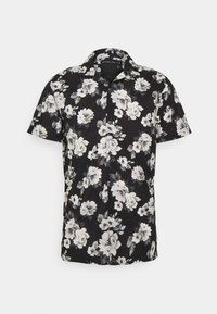 Abercrombie & Fitch - SUMMER RESORT - Shirt - black grounded large scale white - 0