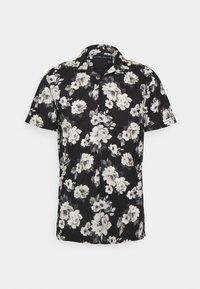SUMMER RESORT - Shirt - black grounded large scale white