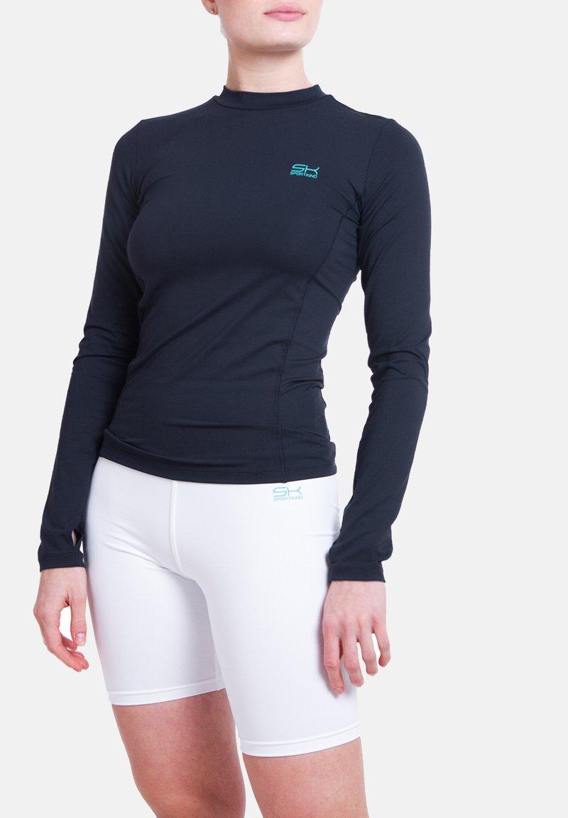 SPORTKIND - Sports shirt - navy blau