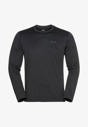 SKY THERMAL LS T M - Long sleeved top - black