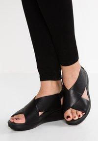 Camper - BALLOON - Platform sandals - sella - 0