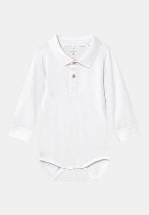 NBMFITON - Polo shirt - bright white