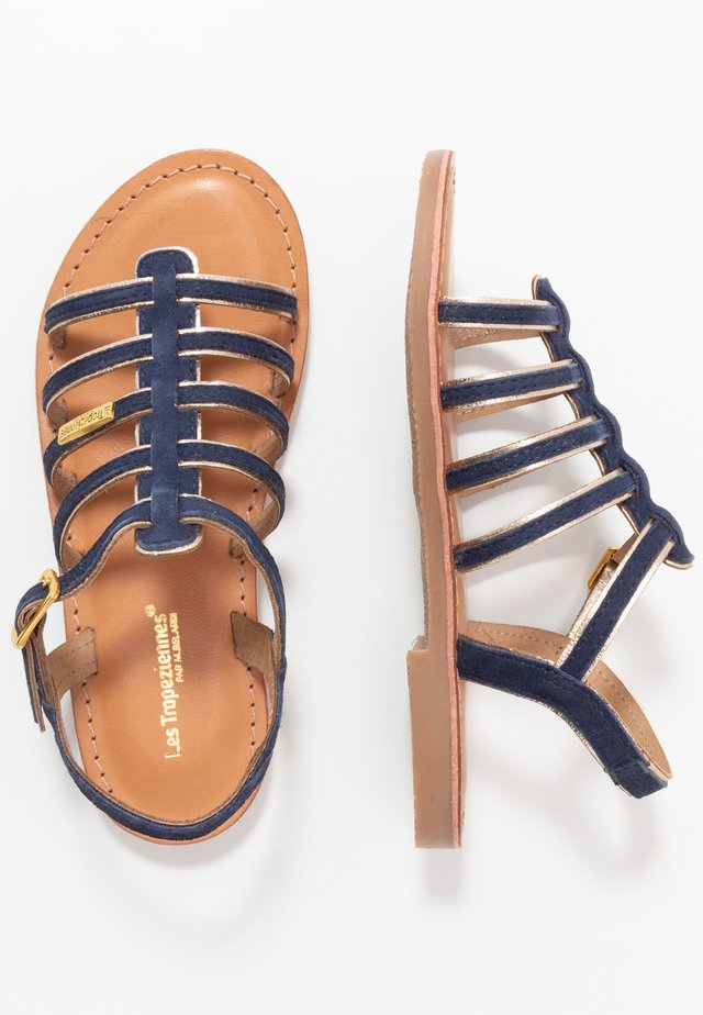 MONBUCK - Sandals - marine