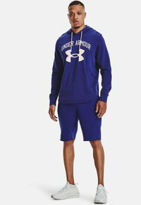 Under Armour - RIVAL TERRY BIG LOGO HD-WHT - Hoodie - regal - 1