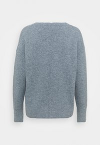Esprit - BUTTON CARDI - Kardigan - light blue lavender - 1
