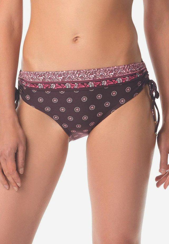 Bikini bottoms - cordovan