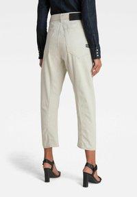 G-Star - C-STAQ 3D BOYFRIEND CROPPED - Relaxed fit jeans - ecru - 1