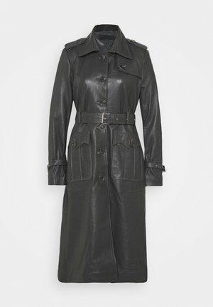 JENNI LONG - Trenchcoat - dark grey